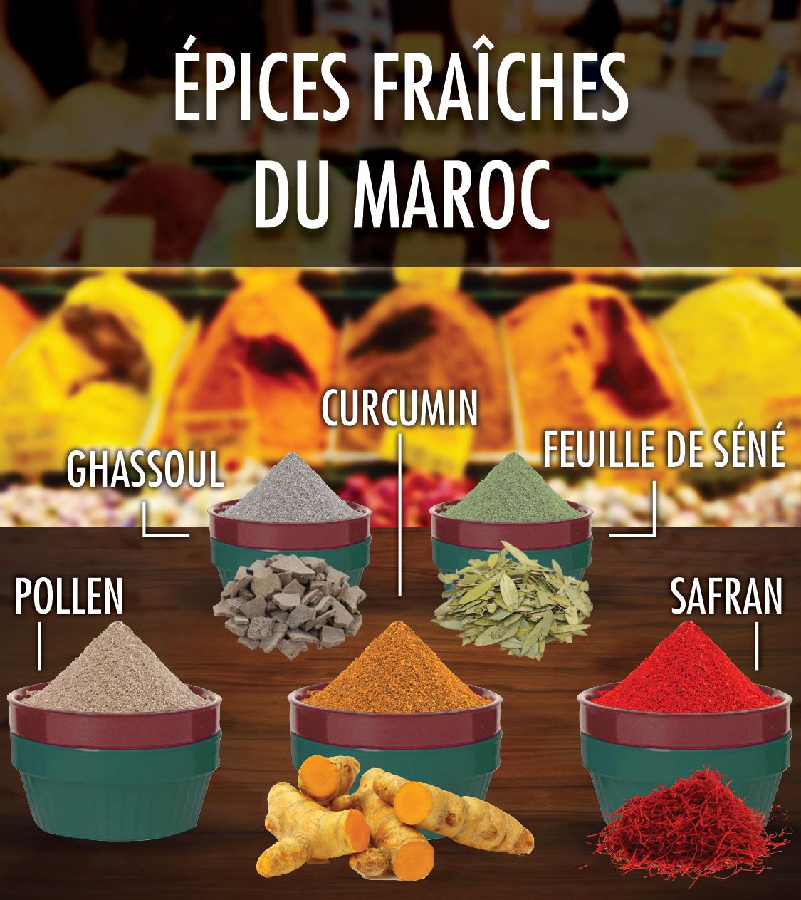 liste epices marocaines