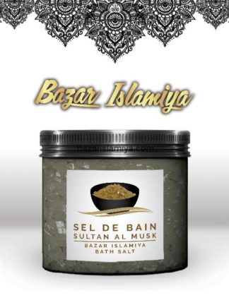 Sel de bain au musc sultan