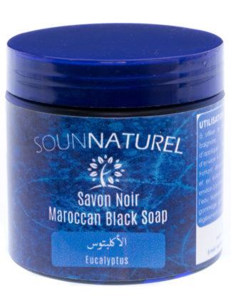 Savon Noir à l'Eucalyptus (Moroccan black soap) by Sounnaturel